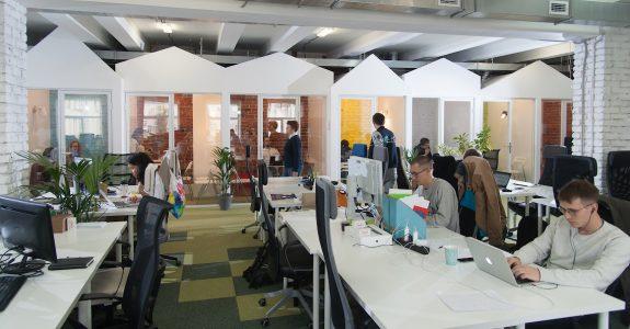 aménagement espaces de bureaux professionnels sur Lyon