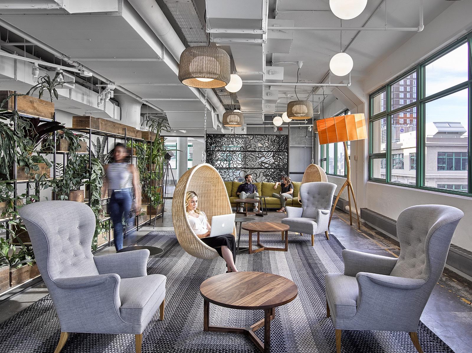aménagement flex office espaces tertiaires