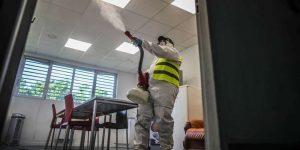 désinfection bureaux COVID-19