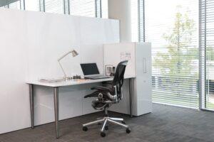 Aménagement rangements dans espaces de travail - Bloom Inside Lyon