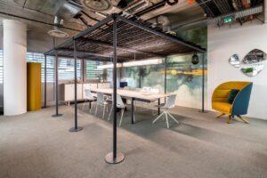 Aménagement espaces de travail, flex-office, espace réunion ouvert - Bloom Inside Lyon