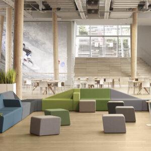 Aménagement hall d'accueil design remarquable - Bloom Inside Lyon