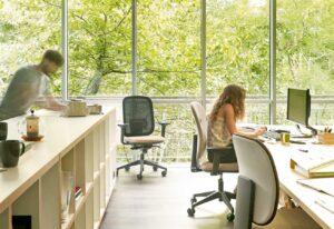 aménagement flex office bureaux - Bloom Inside Lyon