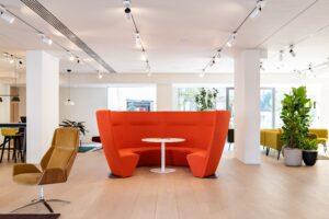 Aménagement de halls d'accueil ou d'espaces d'attente design remarquable - Bloom Inside Lyon