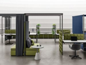 Aménagement de bureaux en, flex-office ou en coworking - Bloom Inside Lyon