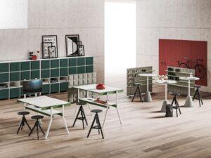 Aménagement espaces de travail, atelier open-space, bureaux collaboratifs - Bloom Inside Lyon