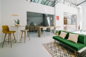 Aménagement espaces de travail en flex-office ou coworking - Bloom Inside Lyon