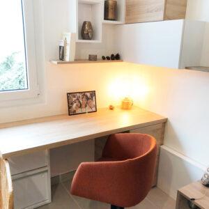 Aménagement d'un bureau en télétravail en conformité avec l'accord d'entreprise ou la charte du télétravail - Bloom Inside Lyon