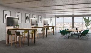 Aménagement espaces de travail à Lyon - espaces réunion - Bloom Inside Lyon
