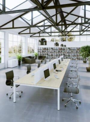 Aménagement espaces de coworking ou de travail, en flex-office, bureaux collaboratifs - Bloom Inside Lyon