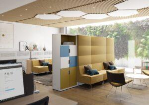 Aménagement espaces de travail collaboratifs, flex-office - Bloom Inside Lyon