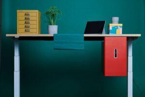 Aménagement espaces de travail en flex-office, bureaux et casiers - Bloom Inside Lyon