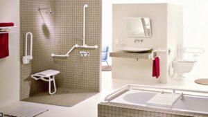 salle bain chambre EHPAD