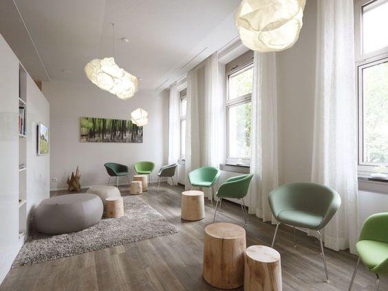 Aménagement d'un espace d'accueil design remarquable - espace d'attente