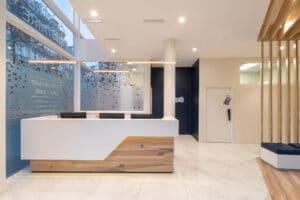 Architecture Intérieur Banque d'accueil design